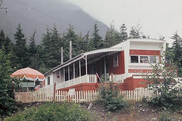 This Awning Was Photographed In 1969 And It Is Alaska